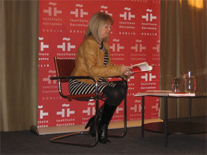 Presentation at the Instituto Cervantes in Dublin