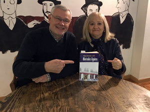 "Presentation of ""Vidas, historias y cafés"" in café Pombo in Madrid, 24th February 2018."