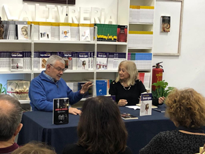 Presentation of Sangre de centauro at La Livreria, Madrid